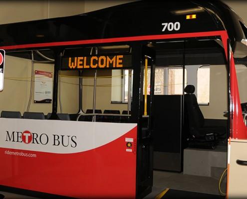 Metro Bus Headquarters Interior
