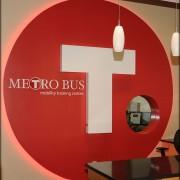 Metro Bus Interior Signage
