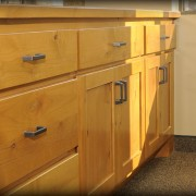 Ameriprise Financial kitchenette cabinets