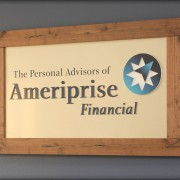 Ameriprise Financial sign