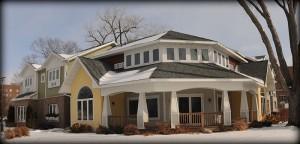 Gorecki Guest House exterior view of wraparound porch
